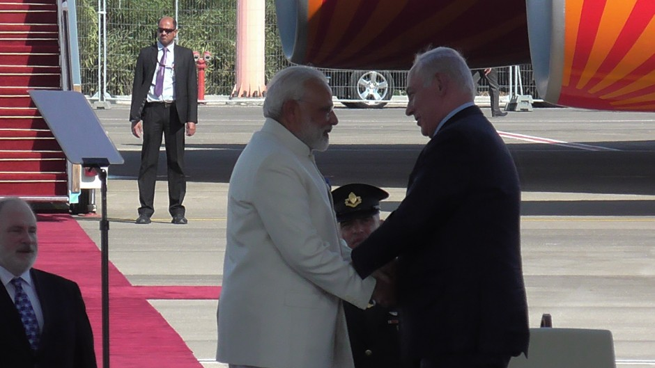 PM Netanyahu's Statement at his Meeting with Indian Prime Minister Narendra Modi