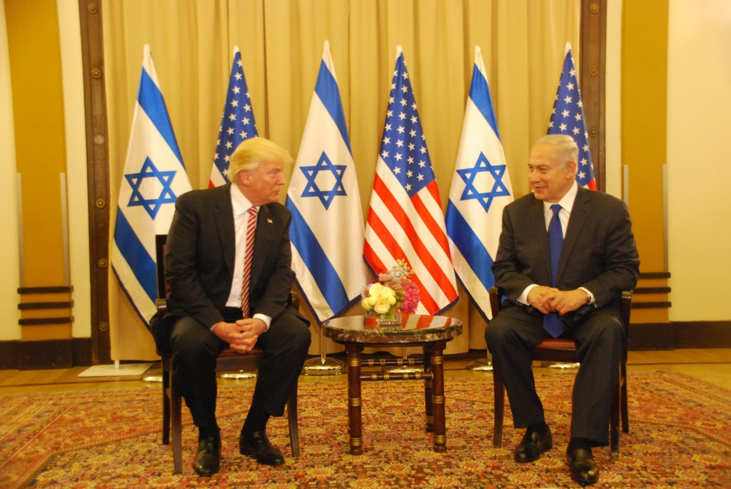 Prime Minister Benjamin Netanyahu Meets with US President Donald Trump